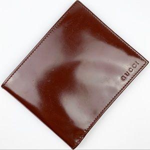 Gucci Enamel Bifold Wallet